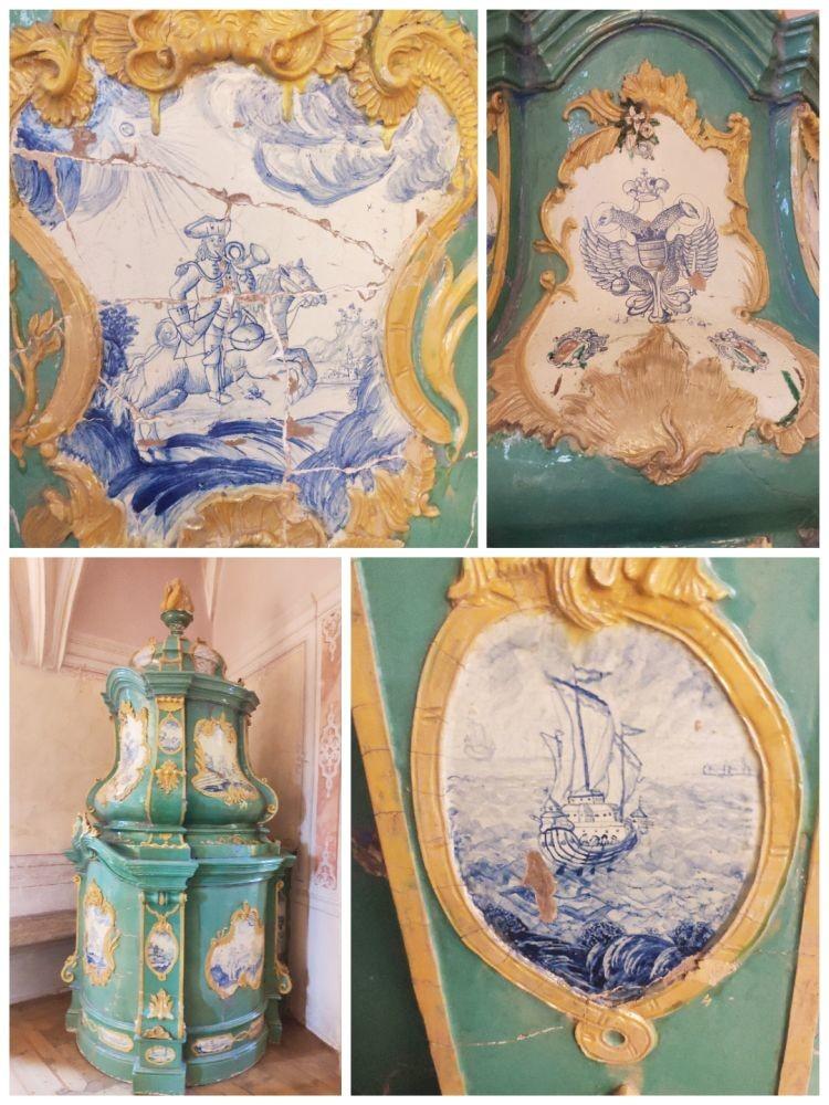 Изразцовая печь эпохи рококо