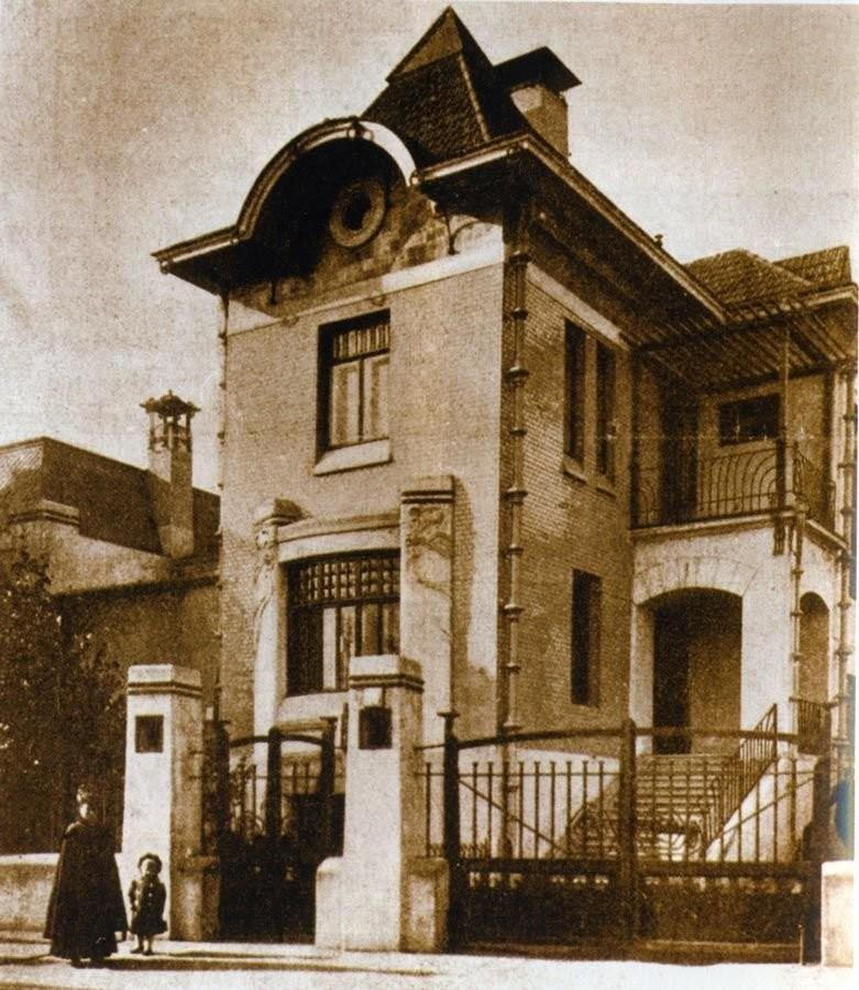 Особняк Мельникова (1904, арх. В.Д. Адамович)