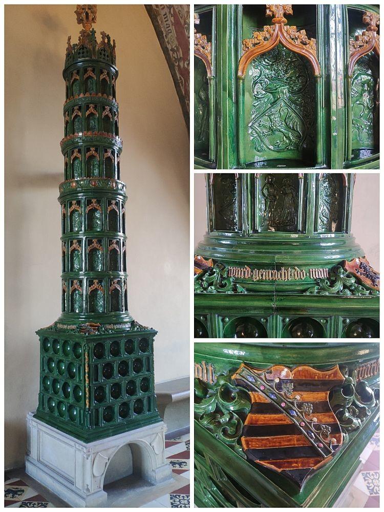 Печь в готическом стиле