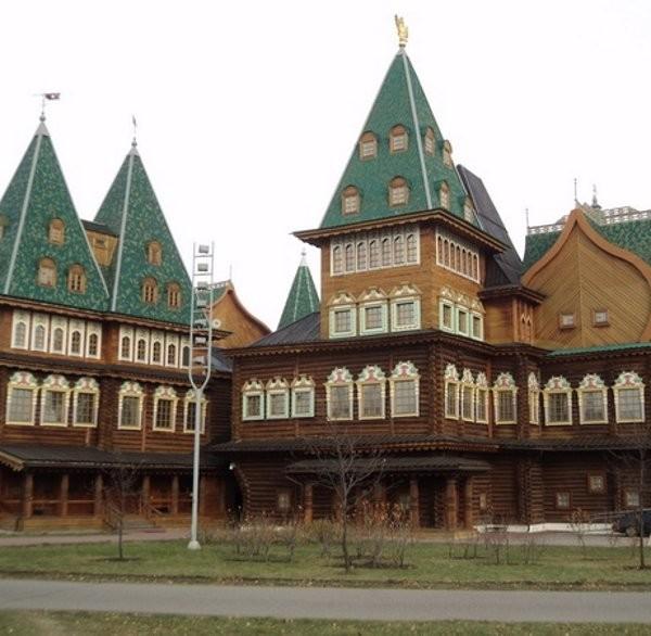 Дворец Алексея Михайловича Романова в Коломенском
