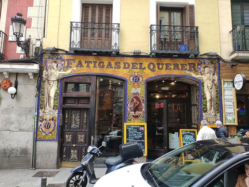 Самое мадридское кафе Fatigas del Querer