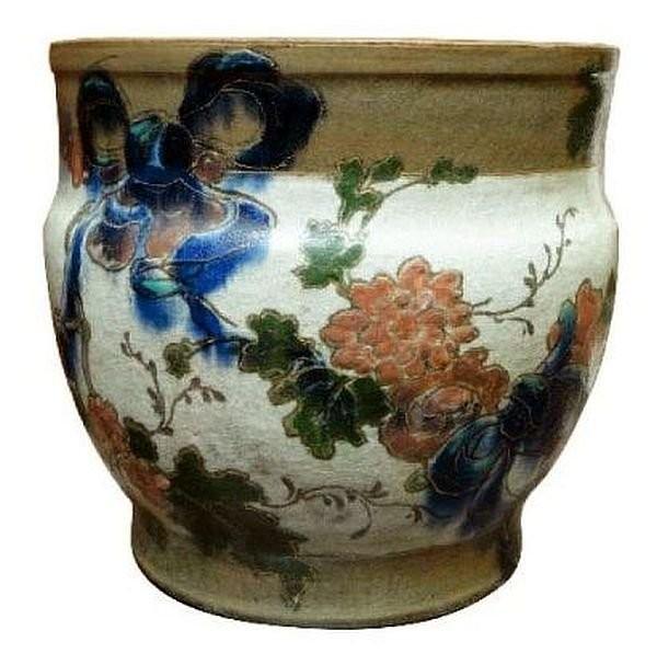 Керамическая ваза в японском стиле периода работы с Альбертом Дамоссом