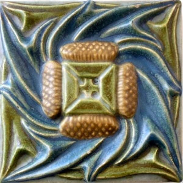 Изразец в стиле арт-нуво Rookwood Pottery