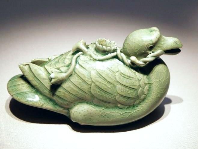 Селадоновая утка, корё