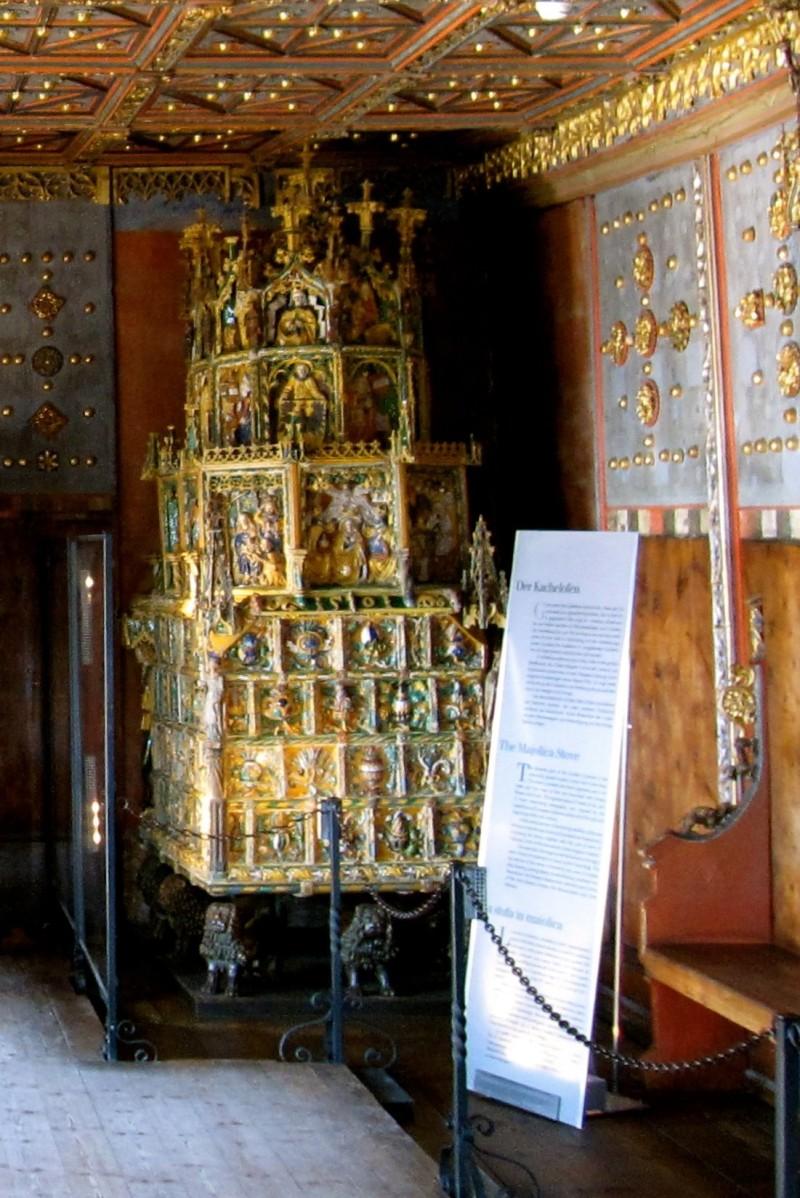 Изразцовые печи в крепости Хоэнзальцбург, 1502 год