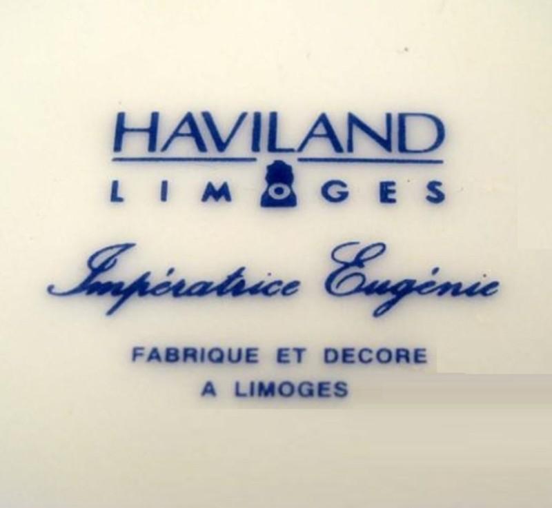 Клеймо мануфактуры Хавиленда