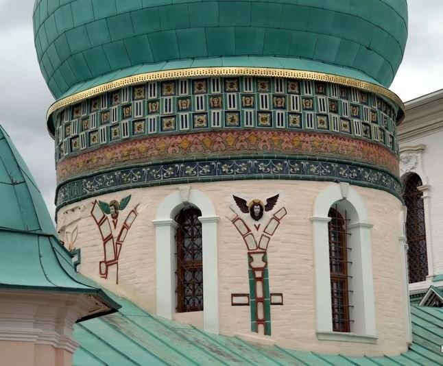 Керамический декор Вознесенского собора Ново-Иерусалимского монастыря