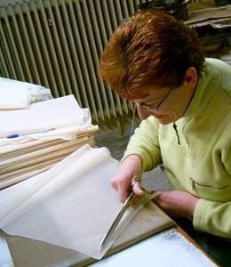 Процесс изготовления кружевного фарфора