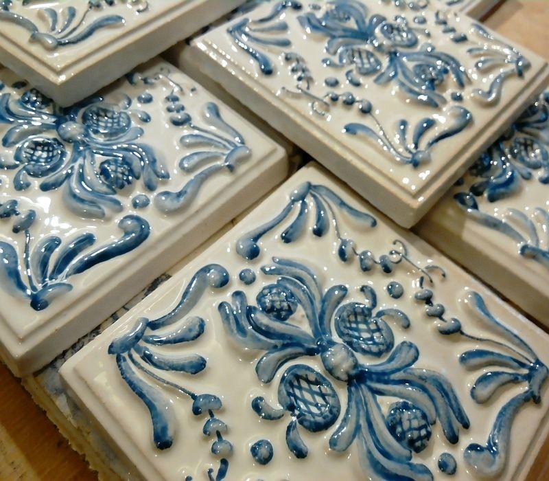 Изразцовые плитки, готовые к отправке заказчику