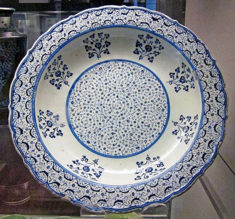 Изникская тарелка. Керамика Золотого Рога. 1530 год