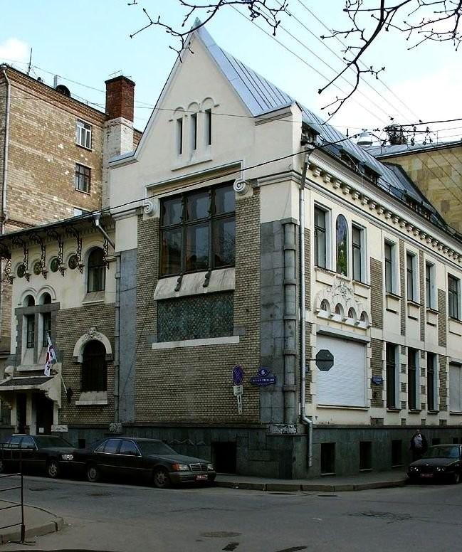 Особняк Соловьева (1901-1902, арх. С.У. Соловьев)