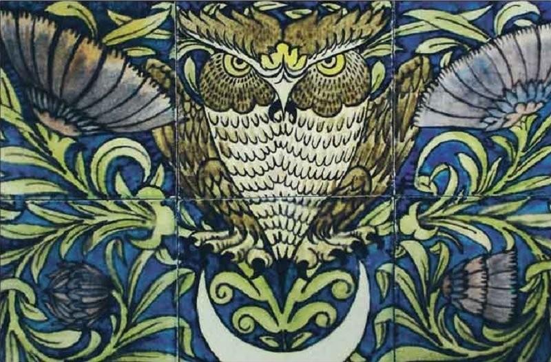 Керамическая плитка Уильяма де Моргана