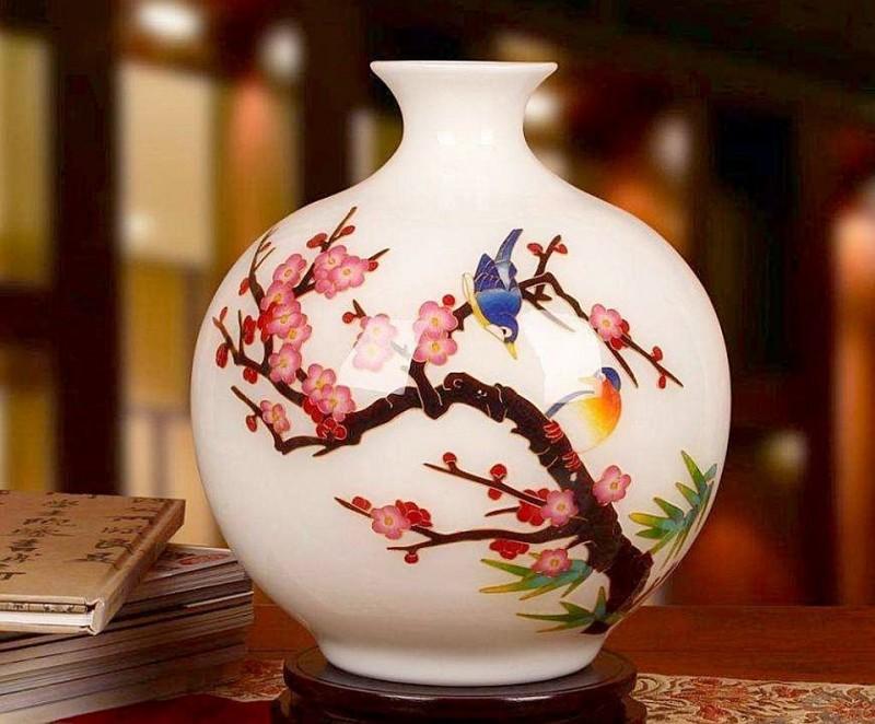 Современная китайская ваза