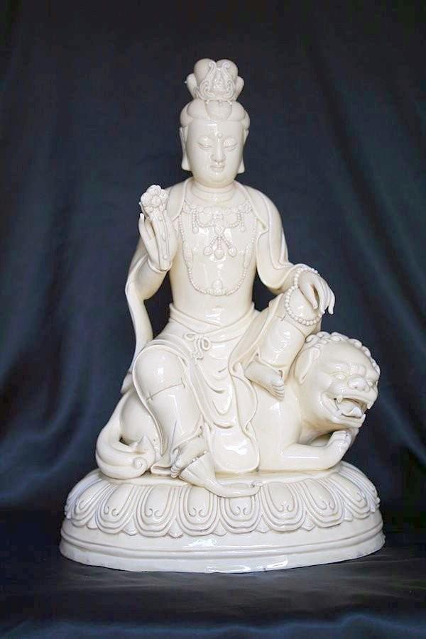 Хэ Чаоцзун, скульптура Будды