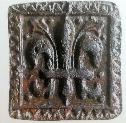 Средневековые европейские изразцы XIII век, Корнуэлл