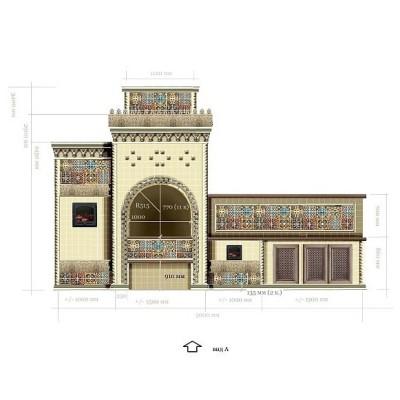 Барбекю в мавританском стиле