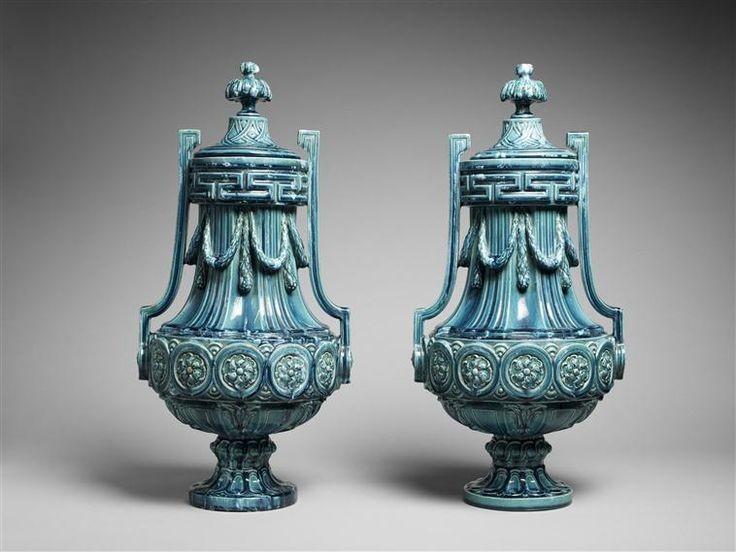 Керамические вазы периода арт-деко Пьера Гребера